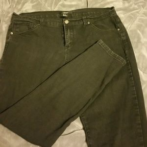 Forever 21 Skinny Jeans Black Size 30